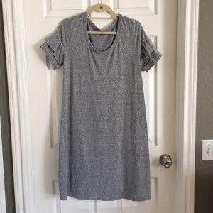 Isabel Maternity flutter sleeve dress M
